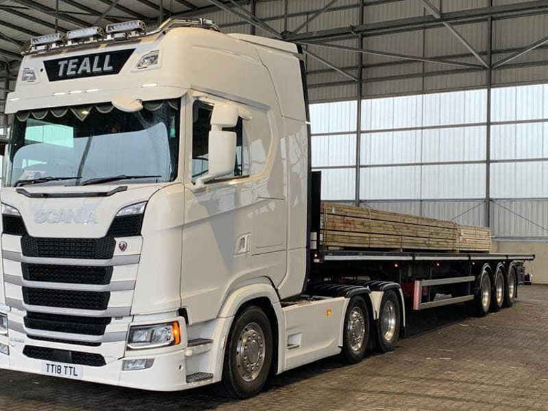 Trailer vehicles from Teall Transport